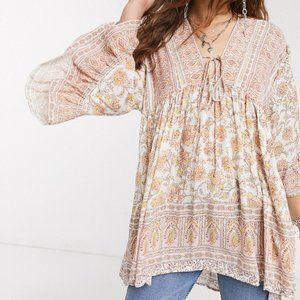 Free People | Moonlight Dance Tunic Top NEW!